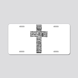 Names of Jesus Aluminum License Plate